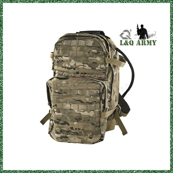 Cordura Military Assault Backpack with 3L Bladder (Multicam)