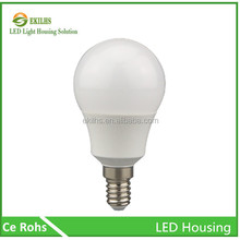 Cheap price 15w E27 white color class cover led bulb shell led housing
