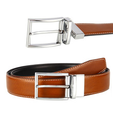 OEM Factory Brand Reversible Buckle Genuine Leather Male Belt