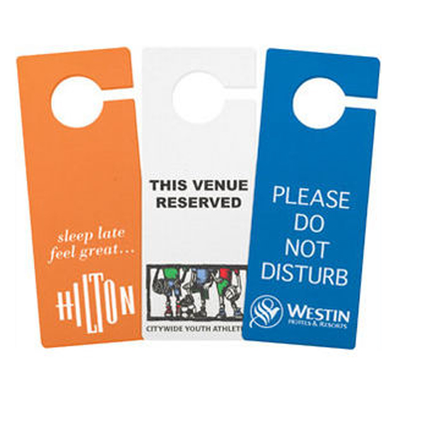 Do Not Disturb Hotel Door Hangers - Buy Do Not Disturb Door Hanger