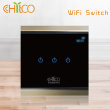 Chitco Smart Home Touch WiFi Screen Wall Light Switch for Home Automation