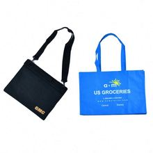 High quality New recycle promotion green folded shopping bag