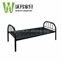 Latest super designs adults metal frame steel single bed for sale