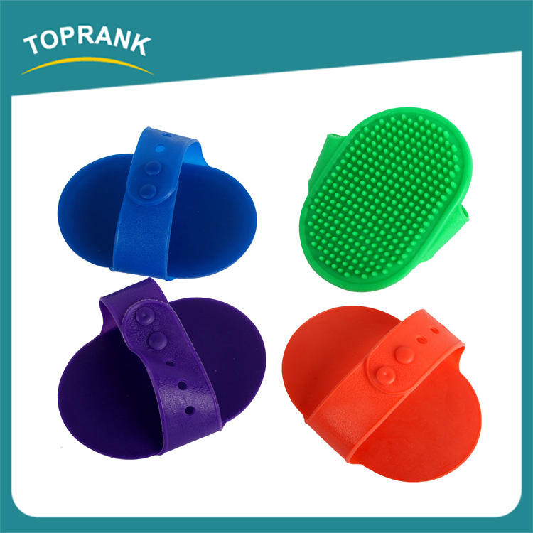 Hot sale pet cleaning grooming products soft TPR dog bath wash brush