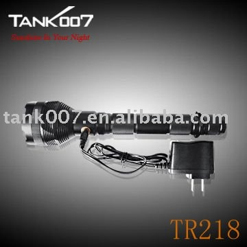 high power led ftorch TANK007 TR218 SSC P7 LED Tactical flashlight military