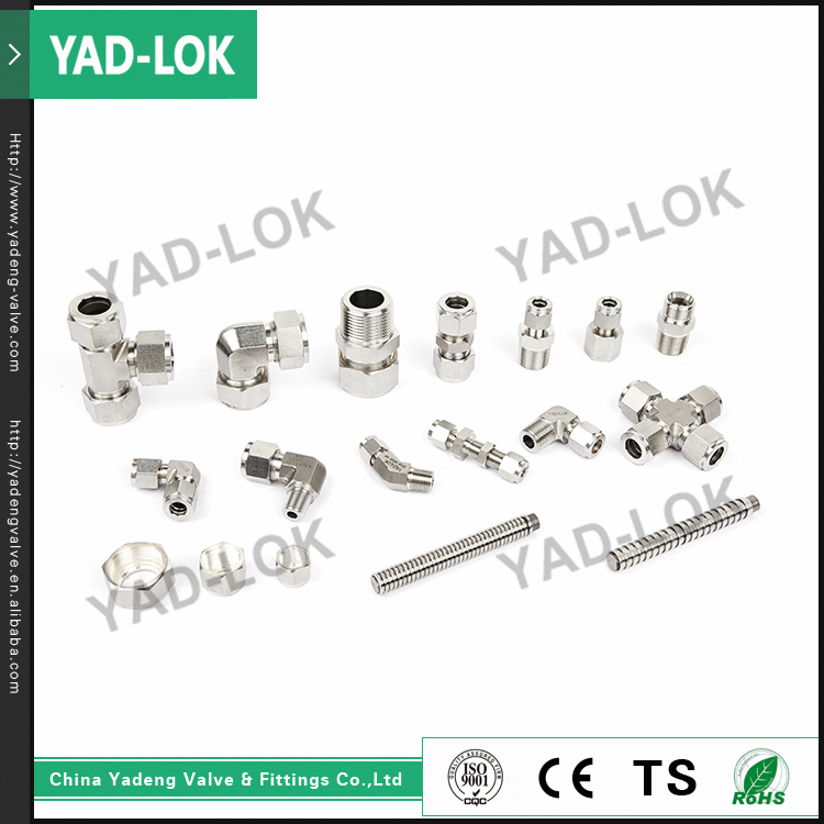 YAD-LOK Import China Goods 1 4 OD Carton Steel Bsp Adapter Pipe Fittings