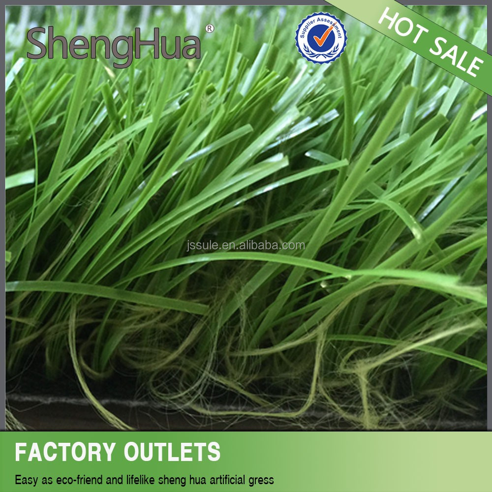 Two green colors synthetic grass/football pitch best synthetic grass