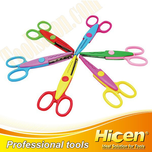 High Quality 6pcs Student Scissors Set,School Scissors Set