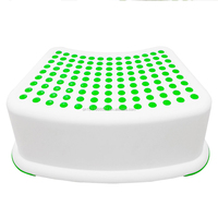 Delivery on time portable folding foot stool small shower/toilet/garden sitting stool foldable plastic step stool