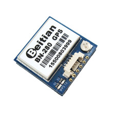 Glonass BN-280 GPS Module Integrated Active Antenna Dual Module for RC Airplanes APM 2.8