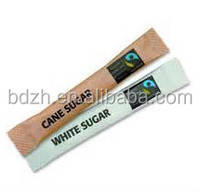 China manufacturer PE coated coffee sugar paper, sugar packaging paper, sweetener packaging paper roll