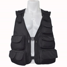 Mesh fly fishing vest pack breathable outdoor photography hunting waistcoat