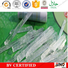 100% natural high purity 99.9% food grade menthol crystal, menthol, menthol price