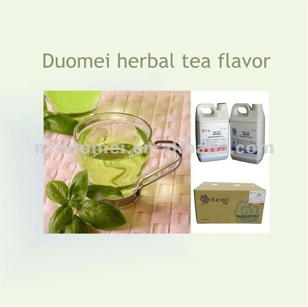 herbal tea flavour for soft drinks
