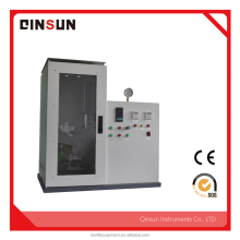 Mask combustion tester mainly used for testing medical masks