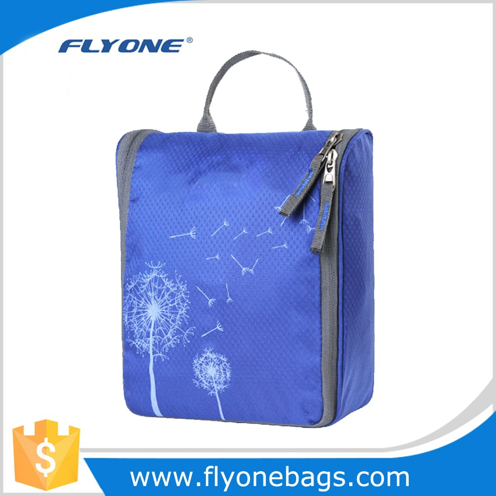 Large Hanging Travel Toiletry Bags With Webbing handle For With Hook
