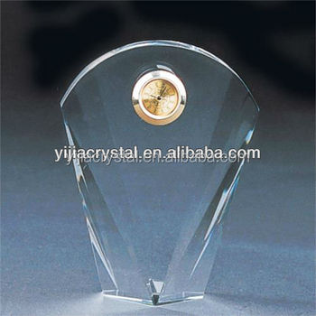 Hot selling! transparent crystal clock