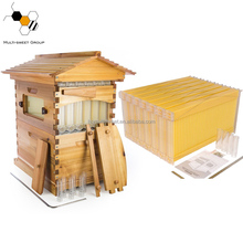 Factory price auto flow bee hive/flow hive beehive from china/honey flow