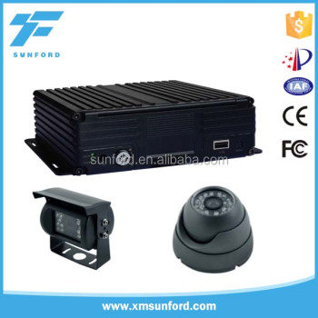 4ch/8ch mobile dvr 1080p tracking system for cars
