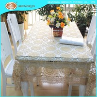 Polyester embroidery table cloth