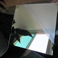 plastic polystyrene mirror sheet/pvc/pet/pmma/acrylic