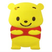 Fast Delivery New Products Cute Silicone Winnie the Pooh Case for ipad mini