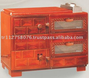 Majolic Bricked Double Lids Cussine Stove