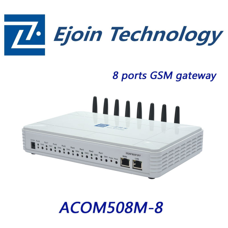 8 channel linux gsm gateway
