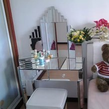 wholesale furniture china 3 way dressing mirror dressing table