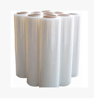 China manufacturer custom design plastic pe stretch wrap film