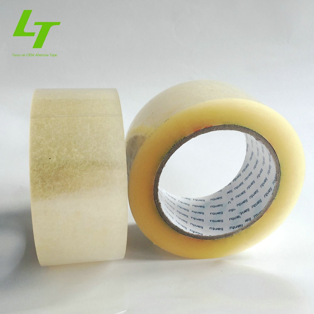 Water based acrylic coating with Bopp/Opp/Polypropylene film,BOPP Material and Single Sided Adhesive Side office tape