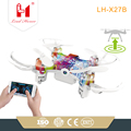 LH-X27B mini toys for kids 4ch 2.4G mini camouflage drone one touch take off/landing bluetooth smartphone APP controlled drone