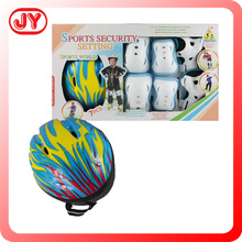 Flash rollers sport kids wrist knee elbow pad set and children sport protector set with EN71 HR4040 ASTM 10P