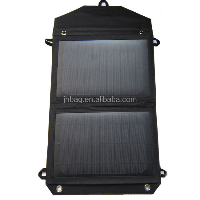2014 Portable and flexible Foldable Solar Charger, Solar Power Supply Pack for Smartphone