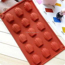 Party Supplies Shell Series 15 cavity shell shaped chocolate mold