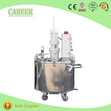 high shear homogenizer vacuum mixer vessel