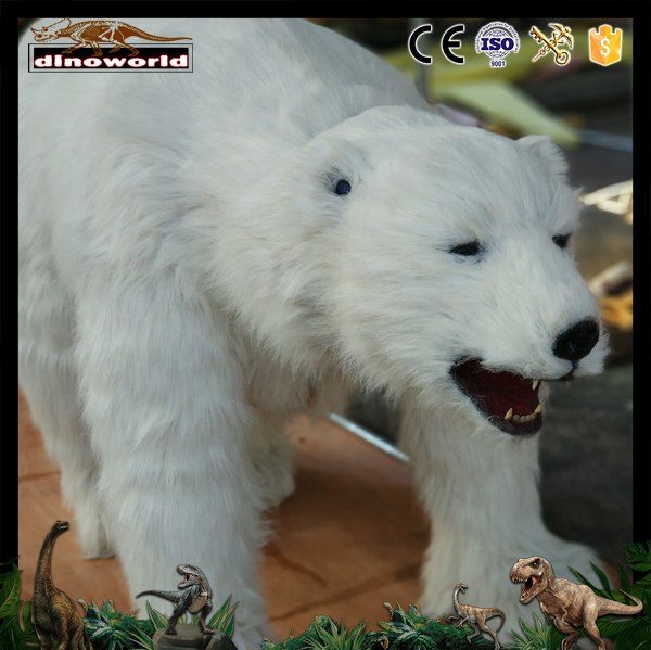 DW-0685 Realistic life size animal costume animated polar bear
