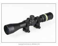 OEM tactical riflescope sight for shooting 3-9x40 rifle scope with green fiber optic scope