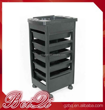 Low price !!! cheap beauty hair salon trolley cart , hair extension used salon trolley tools