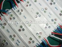 waterproof CE approval 9pcs rgb straw hot led module(2803IC )