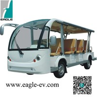 china made in 14 seat New Condition ce approved electric golf cart bus