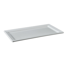 Eco-friendly restaurant food grade dinnerware plastic serving platters melamine rectangle <strong>plate</strong>