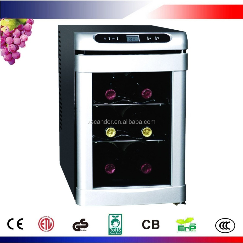 6 Bottles Table Top Wine Cooler CW-20ED