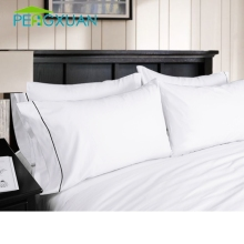 china wholesale White Percale Cotton Blank custom made pillowcase