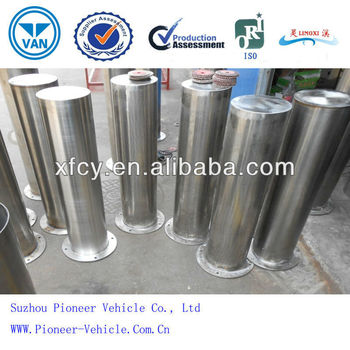 strong and durable with rust prevention steel pipe bollards
