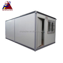 China 20ft Living Pre-made Prefab Cabin Hut Container House
