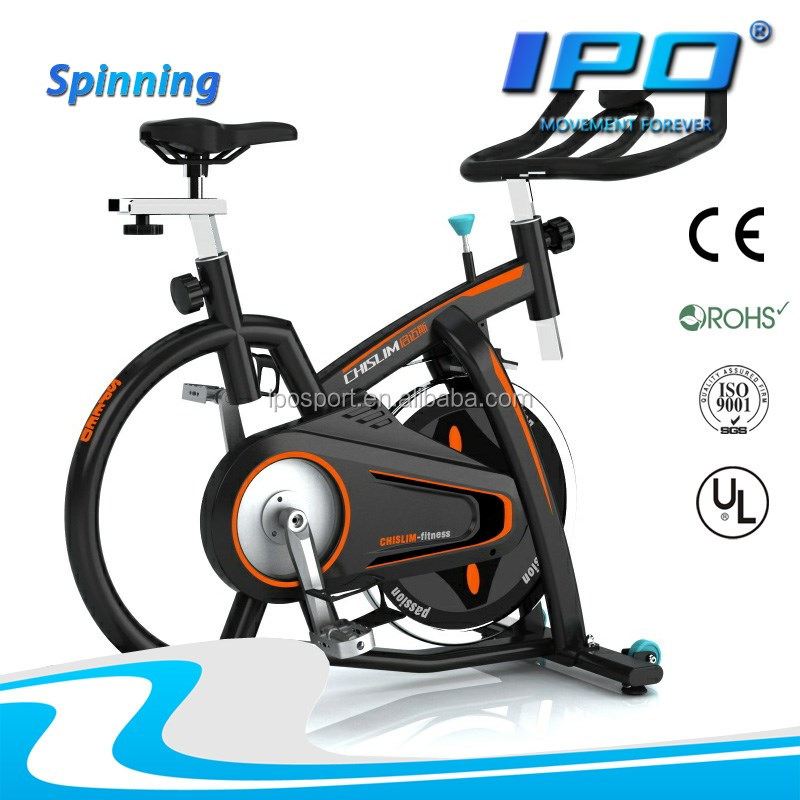 2016 new cheap pass CE flywheel electric fitness bike with LCD displayer