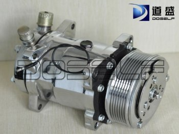 chroming 508 A/C compressor