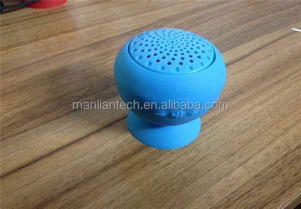 2015 Newest cheap mushroom mini wireless waterproof music mini speaker