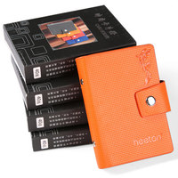 High fashion low price pvc pu plastic cover card holder photo album